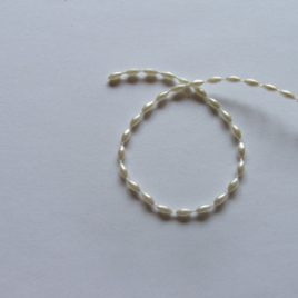 Ivory/Cream Oval Pearls