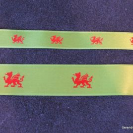 Welsh Dragon Ribbon