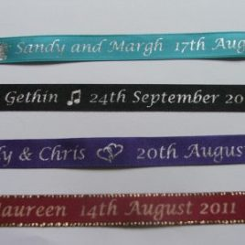 Printed/Personalised Ribbons