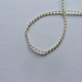 Round Pearls on a Rope