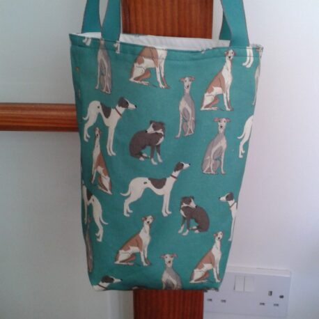 Whippet gusseted bag